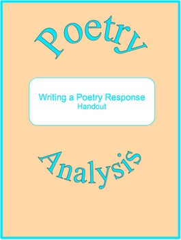 Writing a Poetry Response (Freebie)