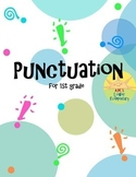Punctuation for 1st Grade Worksheet