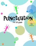 Punctuation for 1st Grade Worksheet