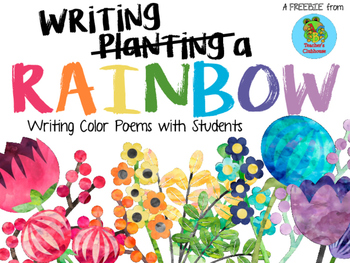 Writing a Rainbow: Color Poems