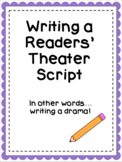 Writing a Readers' Theater Script (Interactive Digital Sli