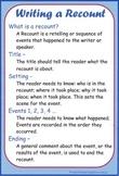 Writing a Recount Cheat Sheet