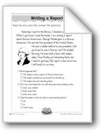 Writing a Report (Verb Tense)