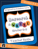 Writing a Research Essay - Aligned to the Common Core