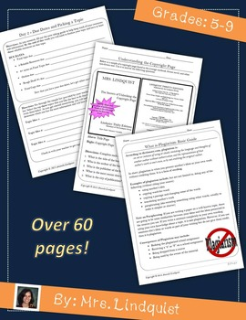 Writing a Research  Essay Bundle (CCSS Aligned)