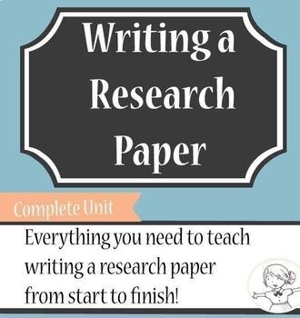 Research Paper - Complete Unit
