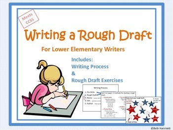 Writing a Rough Draft (Grades 3-8)