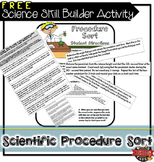 Science Skill Builder Procedure Sorting Activity
