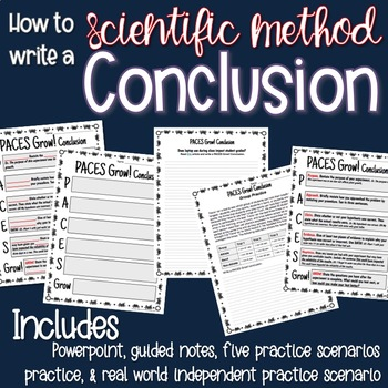 Writing a Scientific Method Conclusion