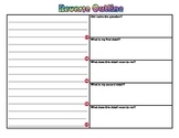 Writing a Short Response Using a Reverse Outline for Grades 3-8