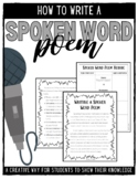 Writing a Spoken Word Poem