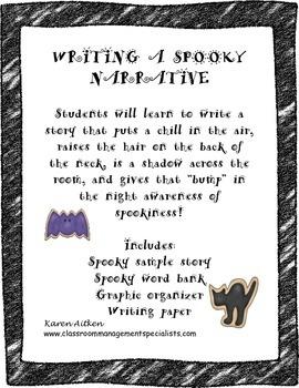 Writing a Spooky Narrative