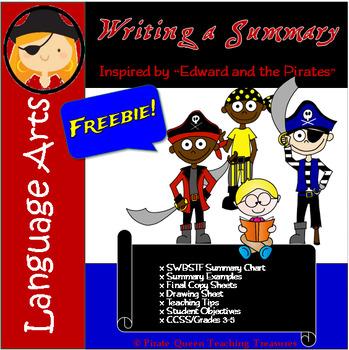 Writing a Summary-- FREEBIE!