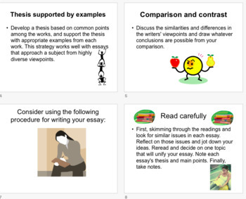 Writing a Synthesis Essay; Thesis for Synthesis Paper PPT