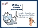 Writing a Thesis Statement