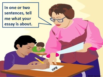 Writing A Thesis Statement By Beth Hammett The Educator Helper  Tpt Writing A Thesis Statement
