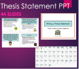 Writing a Thesis Statement, Research or Argument Essay bri
