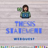Writing a Thesis Statement TEK 1.7Di
