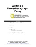 Writing a Three-Paragraph Story