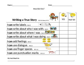 Writing a True Story