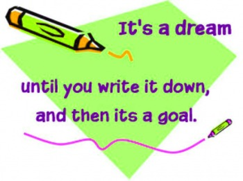 Writing a Well-Organized One Paragraph Essay on a Goal