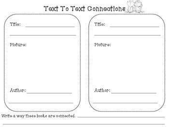 Writing a text to text connection