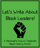 Writing about Black Leaders