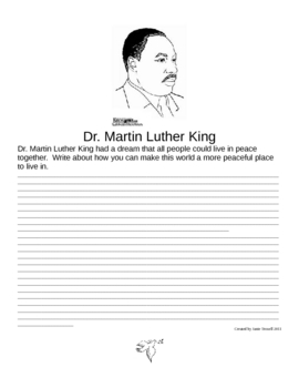 Writing about Martin Luther King