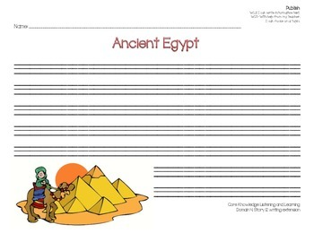 Writing about Mesopotamia and Ancient Egypt