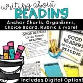 Reading Response Activities | Choice Menu