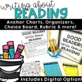 Reading Choice Board Distance Learning