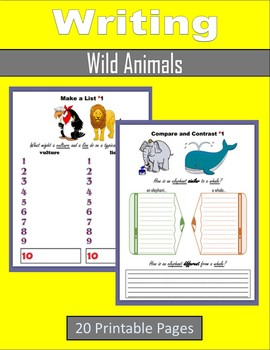 Writing about Wild Animals