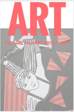 Writing about art, journal/ worksheet