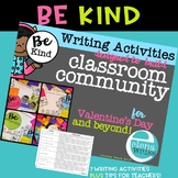 Valentine's Day Writing Activities: Building classroom community