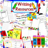 Writing activity pack- mark making