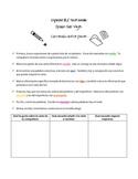 Writing activity (vacations) for IB Spanish, AP Spanish, S
