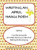Writing an April Haiku Poem
