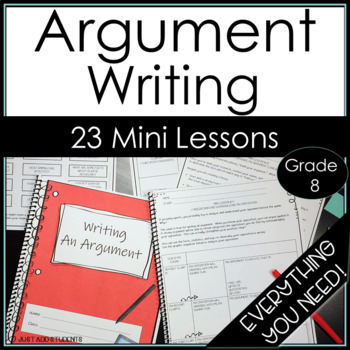 Everything You Need to Teach Argumentative Writing - Writing Workshop