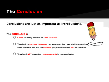 Writing an Argumentative Essay Conclusion
