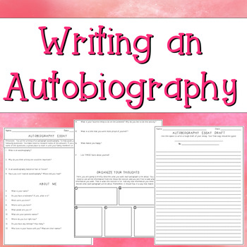 autobiography examples