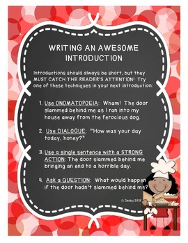 Writing an Awesome Introduction
