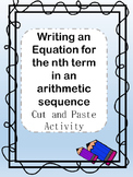 Writing an Equation for the Nth Term of an Arithmetic Sequ