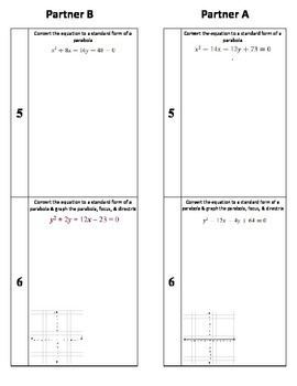 Writing an Equation of a Parabola based on the Focus and Directrix