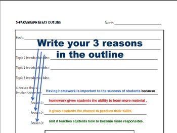 Writing an Essay: Brainstorming, Outlining, & Thesis in a PowerPoint