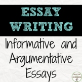 Essay Writing Mini-Bundle for Students