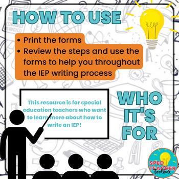 Writing an IEP - A 5 Step Guide