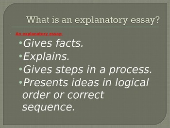 Writing an Introduction:  Nonfiction, Explanatory/ Expository Writing