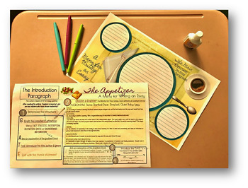 Writing an Introduction-Placemats and Reference Sheets
