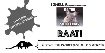 Writing an Introduction Poster (RAAT)