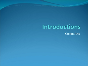 Writing an Introduction Step by Step PowerPoint